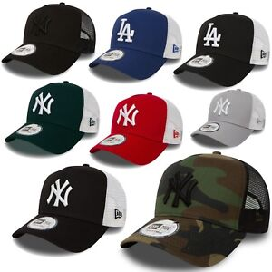 New-Era-Trucker-Mesh-Cap-Basecap-Meshcap-Baseballcap-New-York-Yankees-Dodgeers