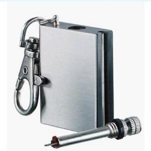 Stainless-Steel-Waterproof-Match-camping-lighter-anywhere-survival-matches