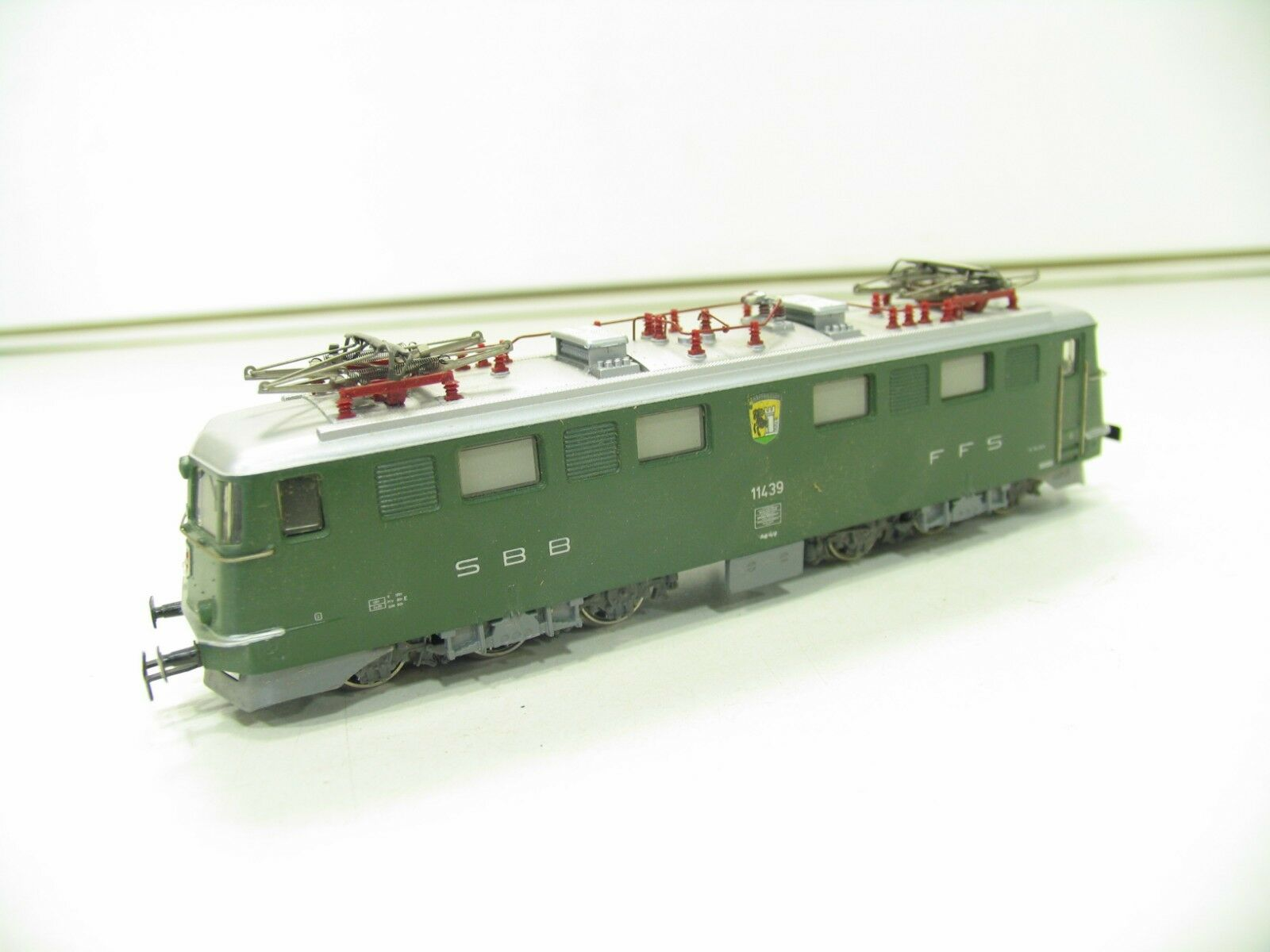 Märklin 3050 E-LOK Ae 6 6 Green SBB nl770