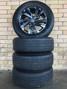 VW-Amarok-Black-Label-Genuine-18-inch-Wheels-and-B-S-Tyres-Near-New