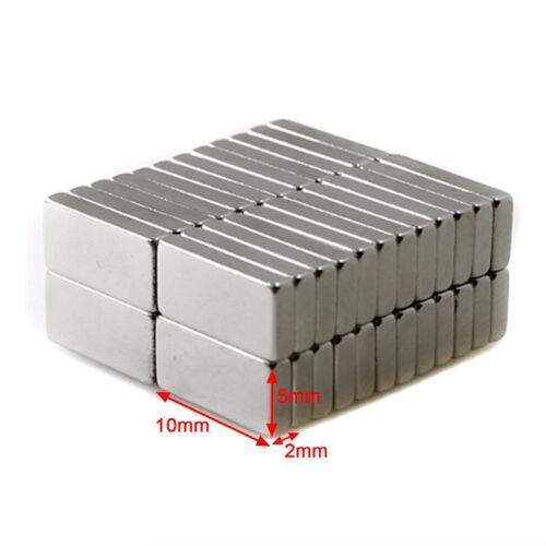 5~50x Extrem starke Neodym Quader Block Magnete eckig Größe und Anzahl wählbar