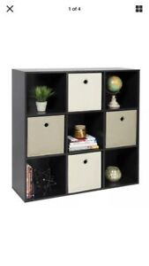 Black-Wood-3-X-3-Storage-Cube-Little-wobbly-but-still-usable-and-cute