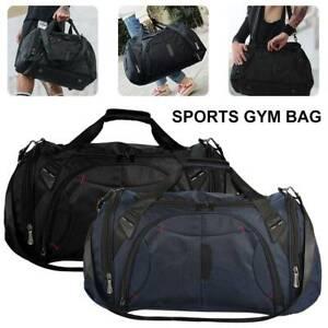 55L-Travel-Duffel-Bag-Large-Foldable-Sports-Gym-Duffle-Big-Bag-Waterproof-AU