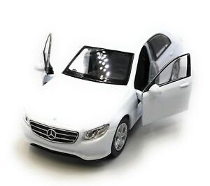 Model-Car-Mercedes-Benz-E400-E-Class-Limousine-White-Car-1-3-4-39-Licensed