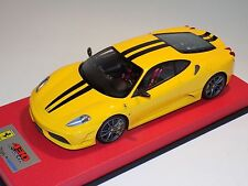 1/18 Looksmart MR Ferrari F430 Scuderia Yellow Black Stripe  Leather 25 pcs