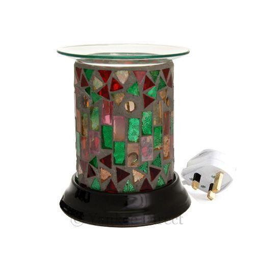 SALE 25/% OFF Woodwick Electric Wax Tart Burner Plug In Melts Free Yankee Tart