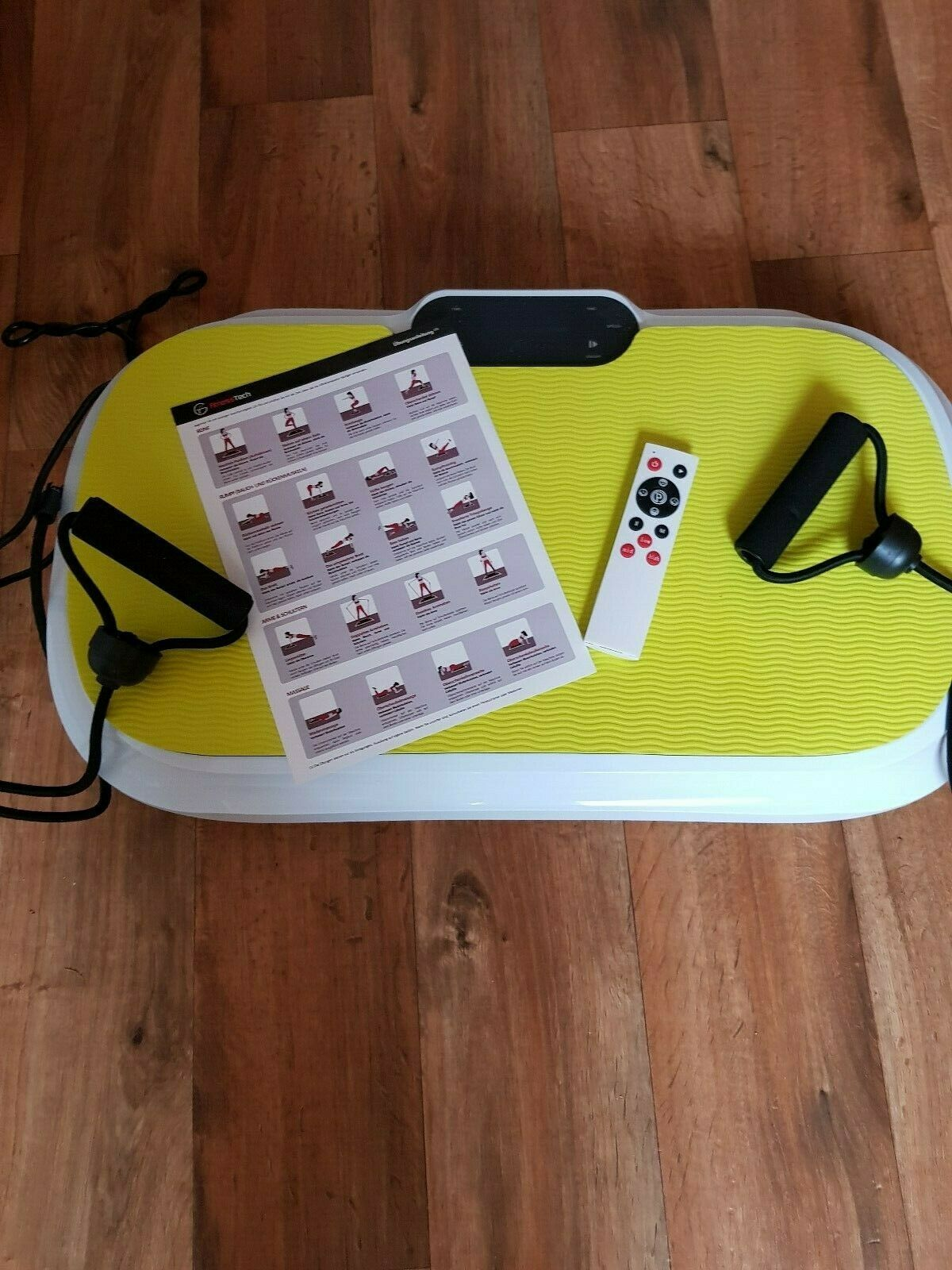 Vibrationsplatte,im April 2019 gekauft,sehr selten benutzt,keine Gebrauchsspuren