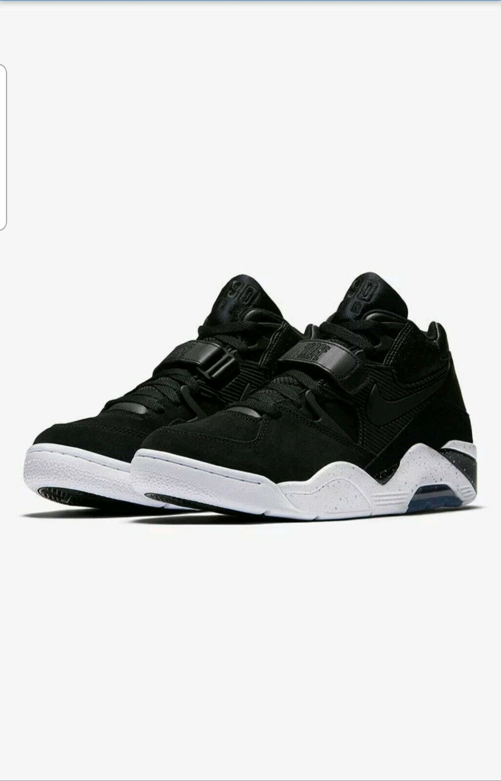 Nike Air Force 180 men lifestyle sneakers NEW black white 310095-003 size 10.5