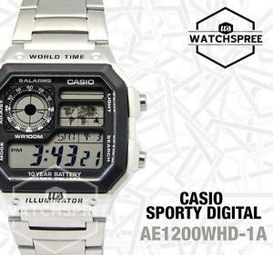 Casio-Standard-Digital-Watch-AE1200WHD-1A-AU-FAST-amp-FREE