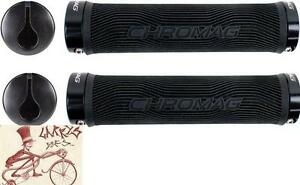 CHROMAG PALMSKIN BLACK MTB-HYBRID BICYCLE GRIPS