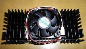 Pentium II Ball Bearing CPU Cooling Fan w// Heat Sink CF-101