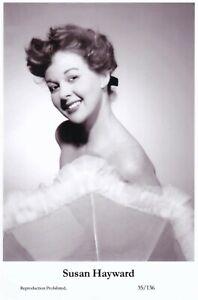 SUSAN-HAYWARD-hollywood-MOVIE-STAR-actress-GLAMOUR-modern-2000-postcard