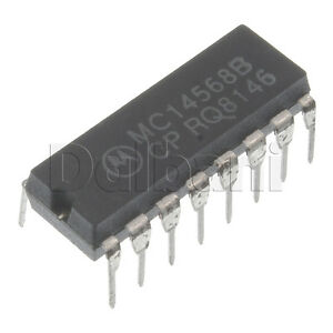MC14568B-Original-New-Old-Stock-Motorola-Linear-IC-DIP16-16-Pin