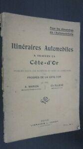 Rutas Coche A Cruzado La Lado D Oro Marion-Elleve Dijon 1929 ABE