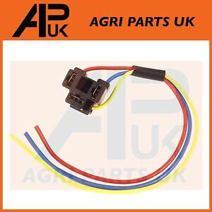 Excellent Massey Ferguson 135 Etc Tractor Headlight Headlamp Wiring Plug Wiring Digital Resources Spoatbouhousnl