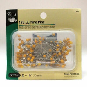 Dritz 175-Piece Quilting Pins 1-3//4-Inch