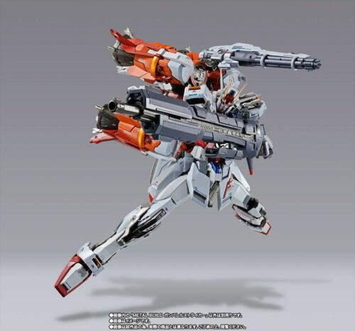 METAL BUILD Gundam SEED GUNBARREL STRIKER for AILE STRIKE GUNDAM Figure BANDAI