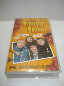 THE-YOUNG-ONES-OIL-BORING-AND-FLOOD-VHS-VIDEO-TAPE-PAL-FREE-POSTAGE