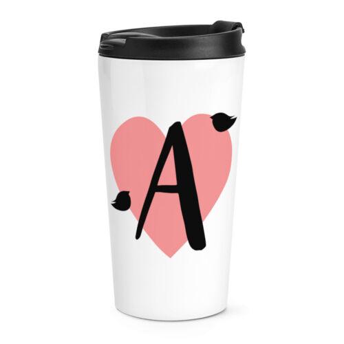 Lettre a heart alphabet Voyage Tasse Amour Saint Valentin Petite Amie thermique