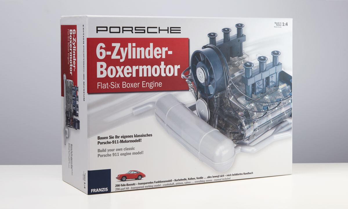 Porsche 6 cylinder boxer engine, Modular Kit 1 4 Franzis Model map09028016