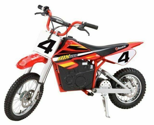 Razor Mx500 Dirt Rocket 500w 15 Mph Battery Powered Electric Dirt Bike For Sale Online Ebay