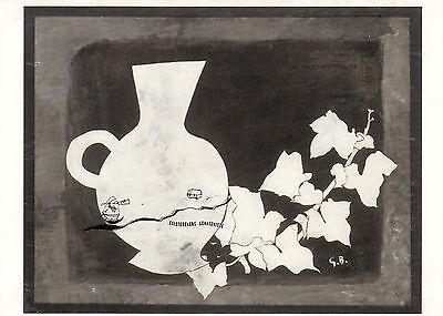 """Georges Braque Kunstkarte Illustration aus /""""Lettera Amorosa/"""""""