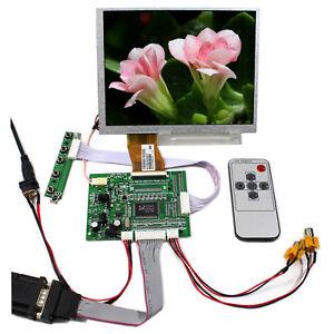 VGA AV LCD Controller Drive Board Lcd Screen kit for 7 inch A070SN02 800x600