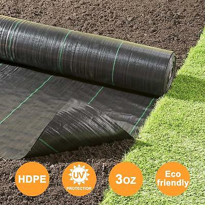 Agfabric Landscape Weed Block Mulch,garden mat for rasied bed,3.0oz,Black,5x10ft