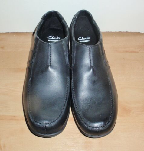Bradley Sur Hommes 11 46 Automne Noir Narrow F En Cuir Clarks Chaussures Uk Nouveau Slip Fit HEUqwSxx