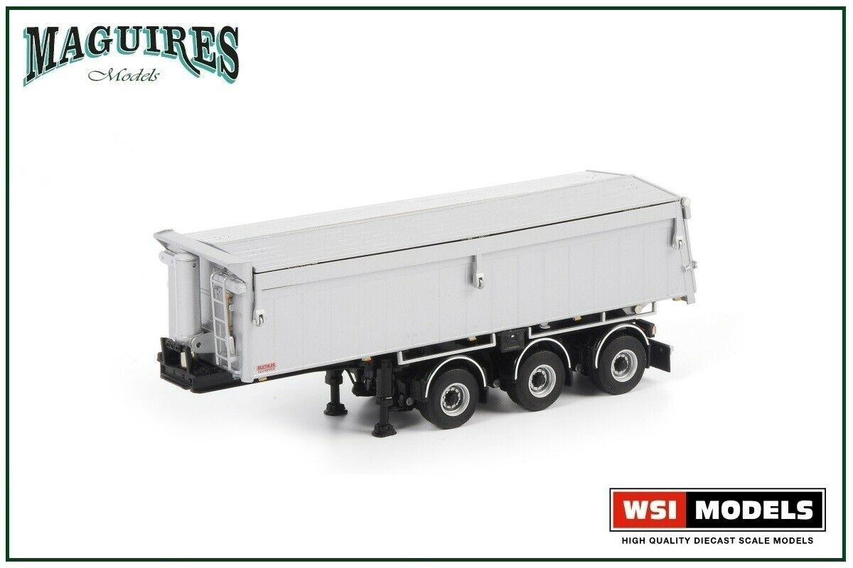 WSI Models   03-1003 White Line; ASPHALT   SAND KIPPER - 3 AXLE