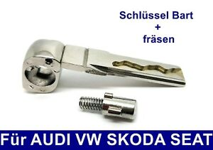 Ersatz-Schluessel-Bart-Schleifen-Nachmachen-Fraesen-fuer-AUDI-VW-SKODA-SEAT-HAA