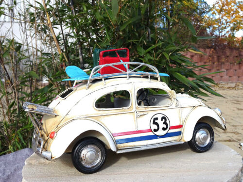 Kultikone Rally Kugel Blechauto Auto Modellauto Antik Retro Geschenk Herbie//TV