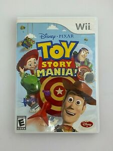 Toy Story Mania! - Nintendo Wii Game - Complete & Tested