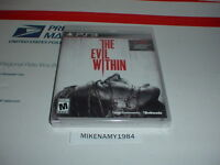 The Evil Within Game - Sony Playstation 3 Ps3 Factory Sealed