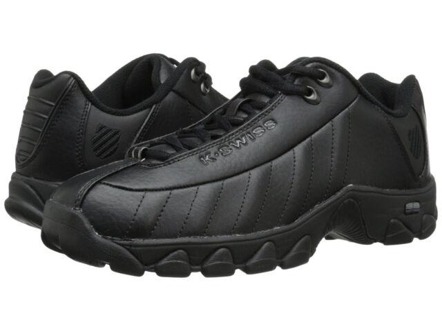Men/'s K-Swiss ST329 CMF Low 03426-008-M Black 100/% Authentic Brand New