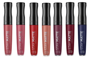Rimmel-Stay-Matte-Liquid-Lip-Colour-Lipstick-5-5ml-Water-and-Touch-Proof-Differ