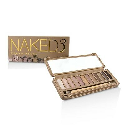 Urban Decay Naked 3 Eyeshadow Palette: 12x Eyeshadow, 1x Doubled Ended Sets