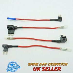 12V Add A Circuit Micro Blade Fuse Holder Cable Piggy Back Tap ATM ATP Car