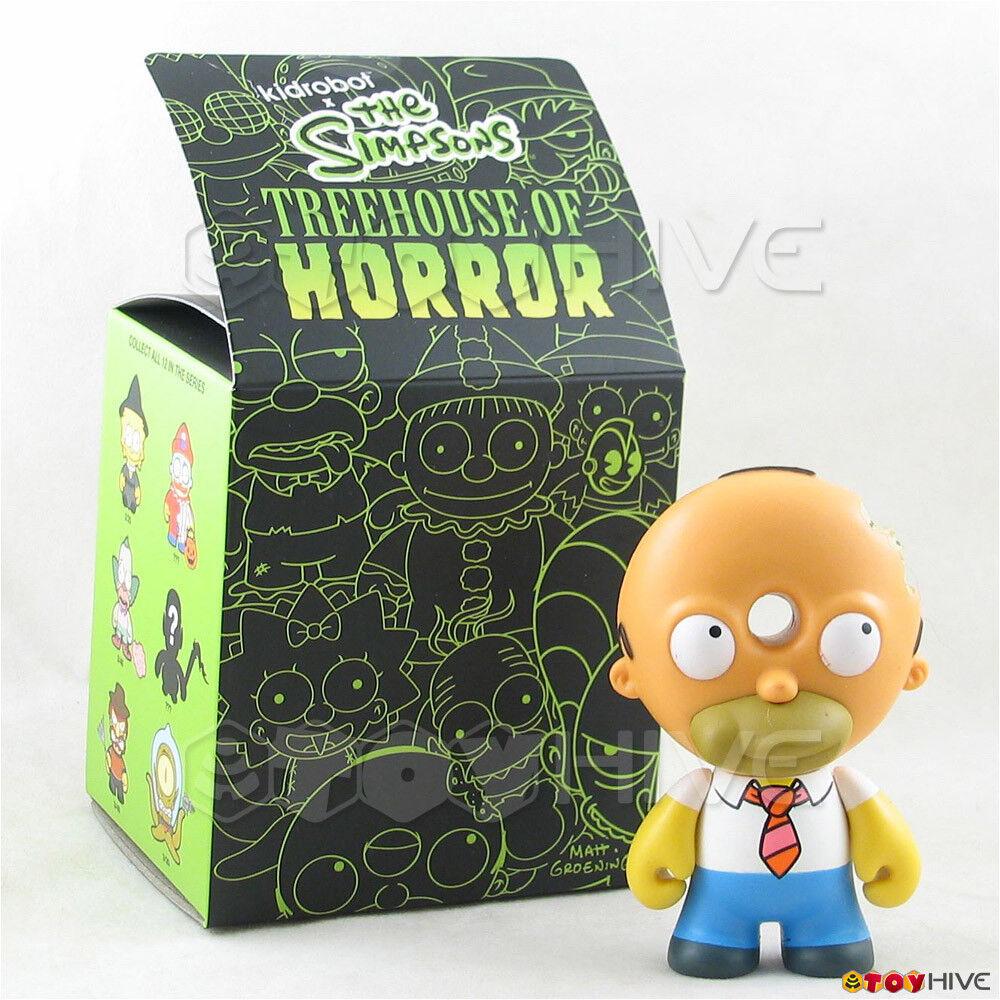 Kidrobot The Simpsons Treehaus of Horror - Donut Head Homer vinyl figure