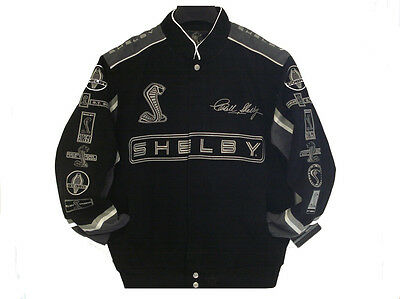 Size 2XL  Authentic Caroll Shelby Cobra Cotton Jacket  JH Design XXL