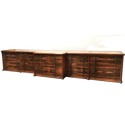 Architect /Art Cabinet, 19'Long, Custom Made for Beverly Hills Art Gallery #7807