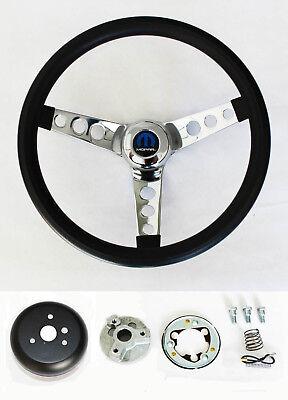 """1960-1969 GMC pickup steering wheel CLASSIC BLACK 13 1//2/"""" Grant steering wheel"""