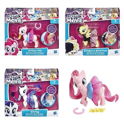 MY LITTLE PONY pop set of 2 RARITY PINKIE PIE design create craft toys NEW!