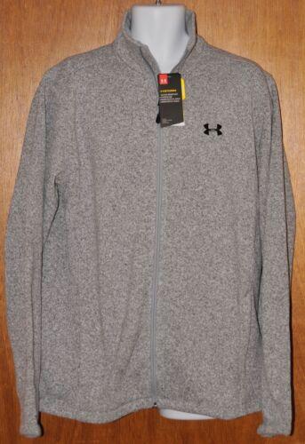 Men/'s Under Armour Storm Specialist Sweater Jacket Heather Gray  Size XL