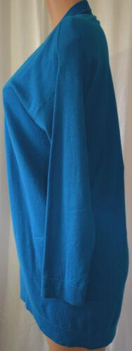 Akris Punto Blu/Verde Blu Lana/Cashmere Coordinato Taglia 10