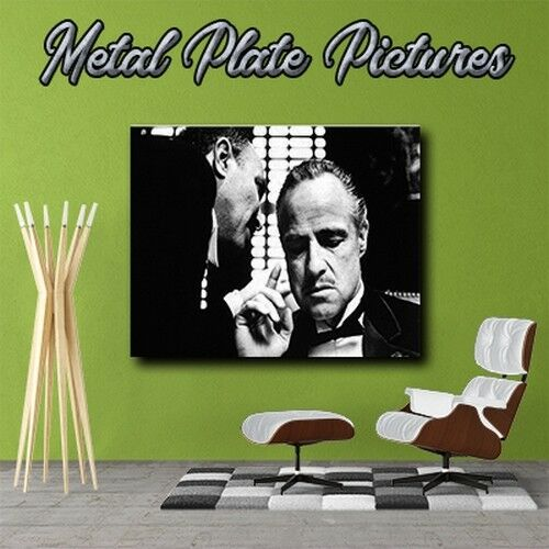 The god farther BW 050 Metal Plate Picture/_Metal wall art Poster