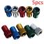 5pcs Presta Valve Schrader Adapter Converter Road Bike Bicycle Pump Tube Kits