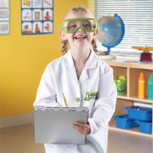 Manteau blanc (âge 3-6 ans) et lunettes 765023827613