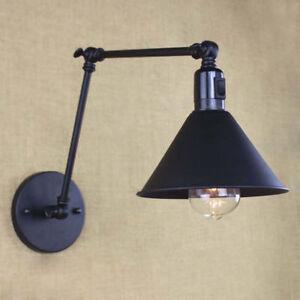 Retro Vintage Adjule Swing Arm Light Wall Lamp Sconce