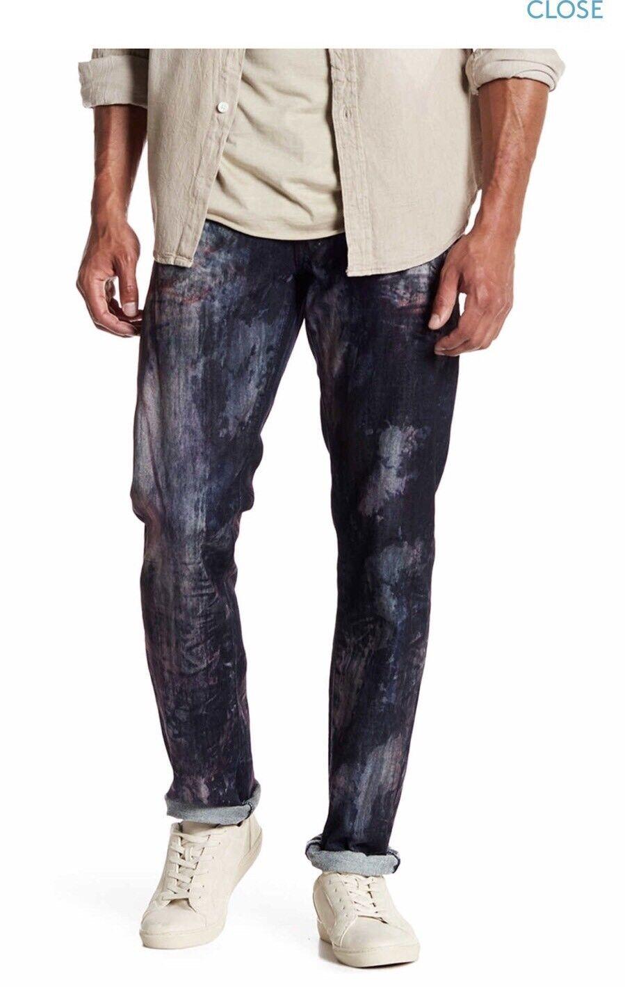 NEW Prps  Barracuda Regular Fit Denim Jeans Indigo Size 34
